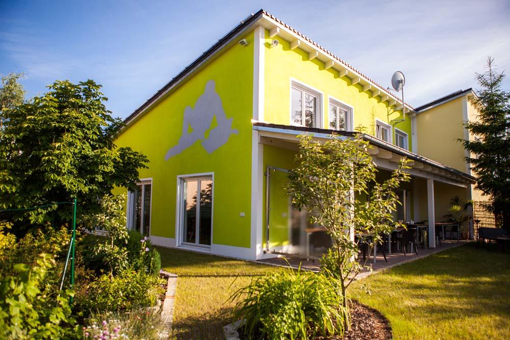 Seminarhaus Gruber Garten und Terrasse